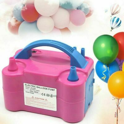 2019 High Power Portable 600W Electric Air Blower Party Balloon Pump Inflator UK