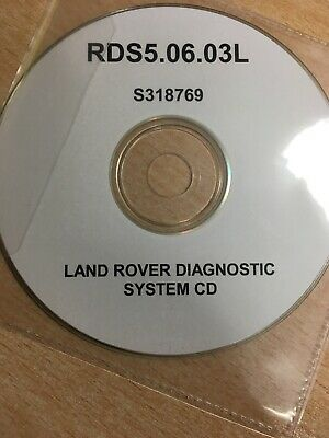 RDS T4 System Disk / CD - T4 / Testbook For Land Rover Only