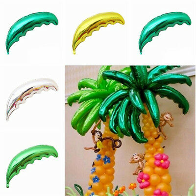 1XCoconut Tree leaf Palm Leaf balloons Birthday Weddings Decors Opening CeremSC