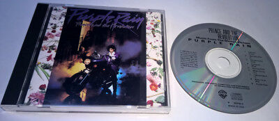 PRINCE and the Revolution Purple Rain CD Funk Soul 9 25110-2 Synth-Pop