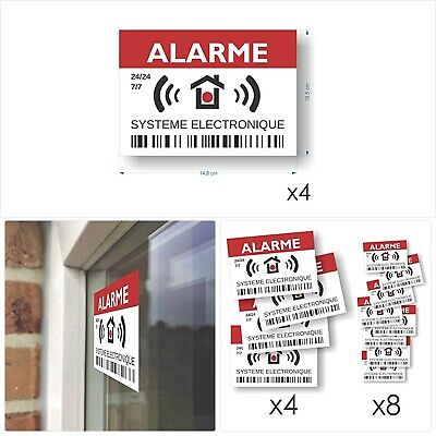 Autocollant Verisure Authentique Alarme Securitas Direct 4