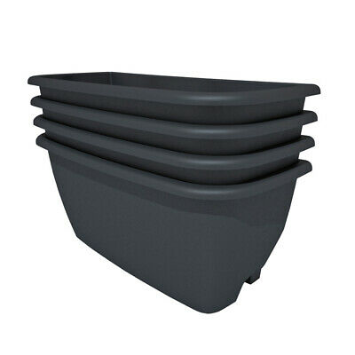 4 Pack of water butt planters for Rainwater Terrace