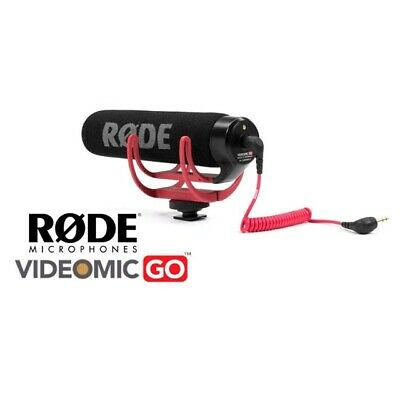 SALE Rode VideoMic Go Light weight Shotgun Camera Video Microphone New In Box
