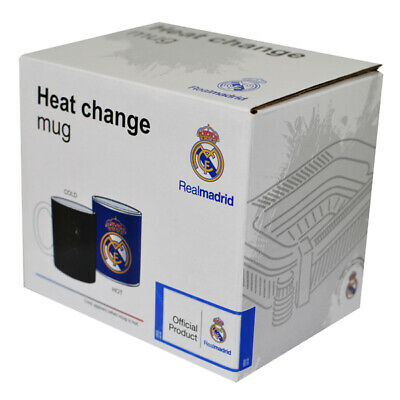 Official REAL MADRID FC Gradient Heat Changing 11oz Mug New Ideal Gift