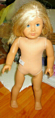 EUC American Girl Doll Truly Me Light Blonde Hair Blue Eyes With Oufit as Shown