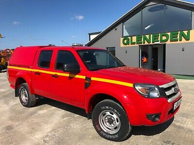 September 2011 61 Ford Ranger double crew cab 4x4 pick up 2.5 Tdi