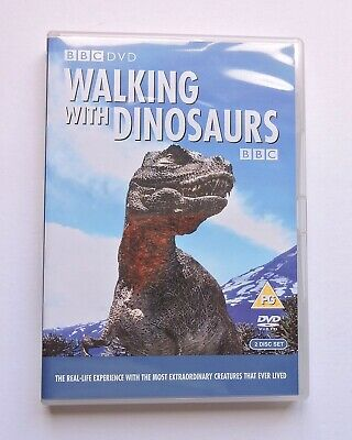 Walking With Dinosaurs  1999 - Region 2 DVD. Complete Series. 2 Disc Set.