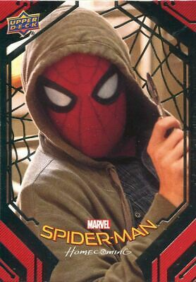 Spiderman Homecoming Silver Foil Base Card #37 The Playback Mask