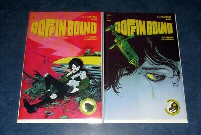 COFFIN BOUND 1 & 2 ongoing 1st print set iMAGE COMIC Dan Watters 1st app HOT NM