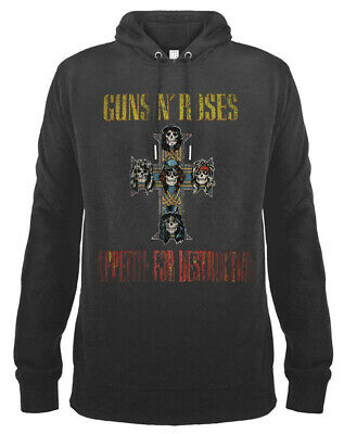 Guns N' Roses 'Appetite For Destruction' Pull Over Hoodie - Amp