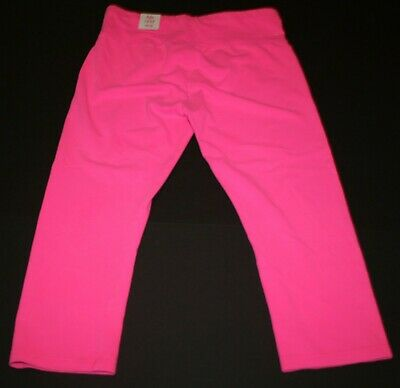 New Justice Leggings Girls 18 20  year Stretch Soft Pants Active Crop Pink