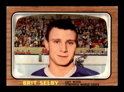 1966 Topps #18 Brit Selby RC EX/EX+ X1752033