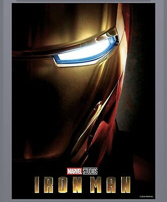 Topps Marvel Collect: MCU First 10 Ten Years IRON MAN Poster 500cc Digital Card