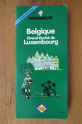 """Guide vert Michelin """"Belgique - Luxembourg"""" 1993 - EDITION SPECIALE Touring Club"""