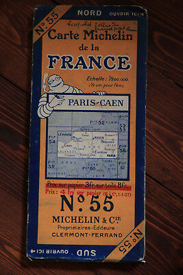Carte Michelin France n°55 - 1926 (2650-13)