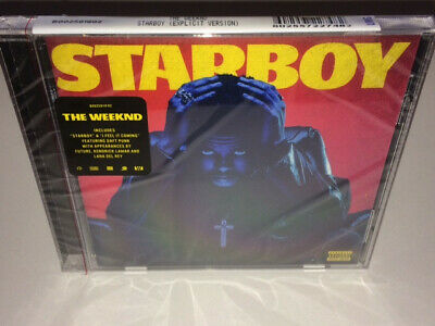 ***BRAND NEW - FACTORY SEALED CD*** Starboy by The Weeknd Explicit CD 2016