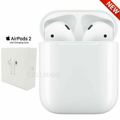 Apple AirPods 2nd Generation (2019) with Charging Case - White (US Warranty)