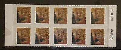 Royal Mail - Christmas 2008 'Madonna'- Sheet of 10 Self Adhesive 1st Class