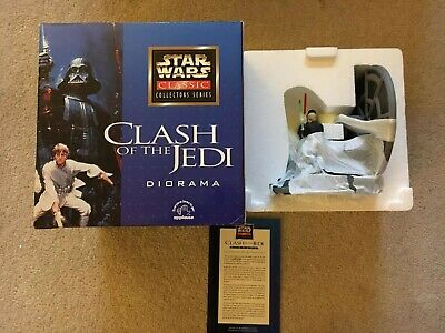 Star Wars Classic Applause series. Limited edition. Clash of the Jedi.