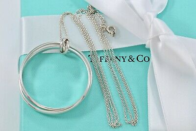 RARE Tiffany & Co Silver Paloma Picasso Melody Rolling Links Medallion Necklace