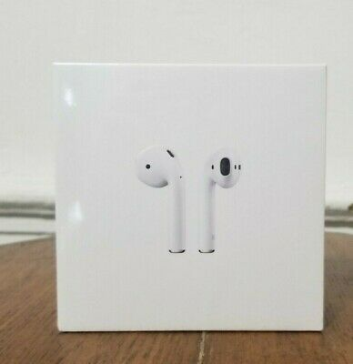 Apple AirPods 2nd Generation with Wireless Charging Case - White (Sealed)
