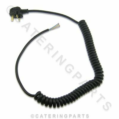 Parry Heated Hot Cupboard Coiled Mains Flex Wire Cable Replacement For Flexbk13A
