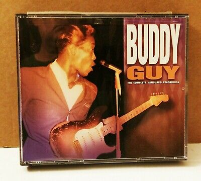 Buddy Guy -  The Complete Vanguard Recordings 3 CD set excellent!