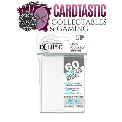 Ultra Pro Pro-Matte Eclipse Deck Protector Sleeves Small 60ct White