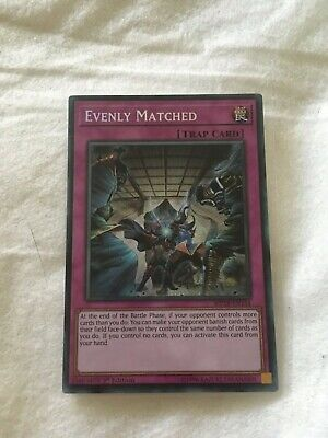 Yugioh Evenly Matched MP18-EN154 1st Edition NM