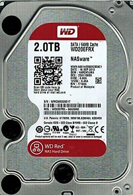 "Western Digital Red NAS 2TB Internal 3.5"" Hard Drive (WD20EFRX)"
