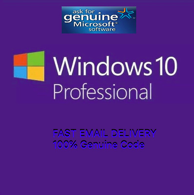 Genuine WIN 10 PRO Professional Activation Product Key 100% Lifetime Guaranteed