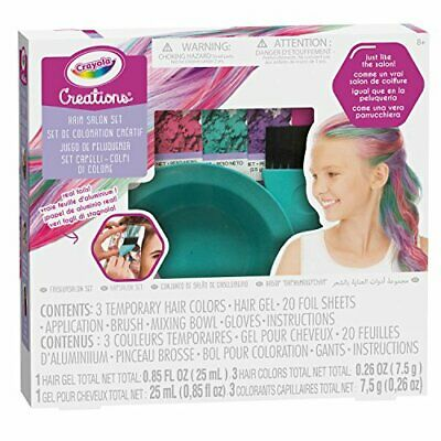 Creations Kapsalon Set Crayola NEW