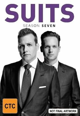 SUITS Season 7 Part 2 (DVD, 2disc-set) NEW & Sealed! Region 4