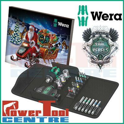 Wera 2019 Christmas Tool Advent Calendar IN STOCK NOW 136600 Hex Torx PH PZ Bits