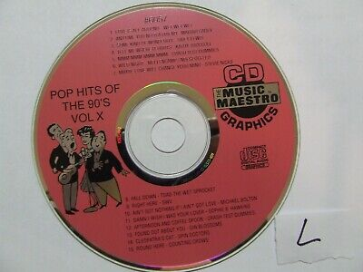 Music Maestro Karaoke Disc MM #6057 CDG CD-G  Excellent Condition Rare