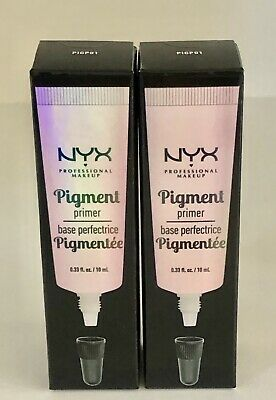 2 X NYX Professional Makeup Pigment Primer  Base Perfectrice 2X10ml