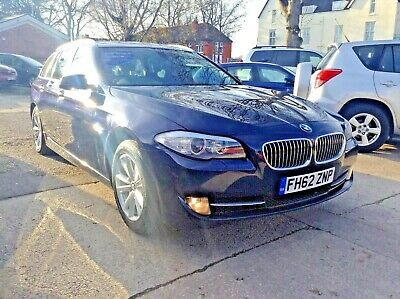 2013 BMW 520d SE TOURING (ESTATE) FULL LEATHER,AA COVER,12 MONTHS MOT NO RESERVE