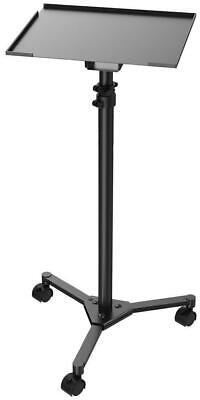 Wheeled Laptop and Projector Floor Stand - Black - PULSE