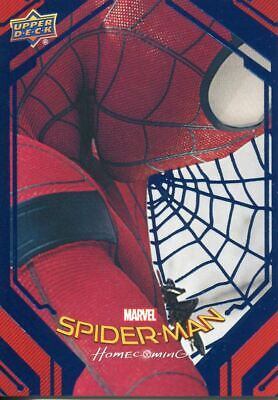 Spiderman Homecoming Blue Foil [99] Base Card #51 Insignia Drone