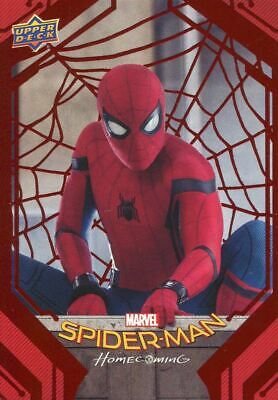 Spiderman Homecoming Red Foil [199] Base Card #56 Going Up