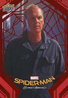 Spiderman Homecoming Red Foil [199] Base Card #2 Voided Contracts