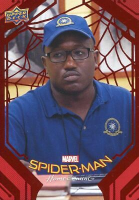 Spiderman Homecoming Red Foil [199] Base Card #60 Detention