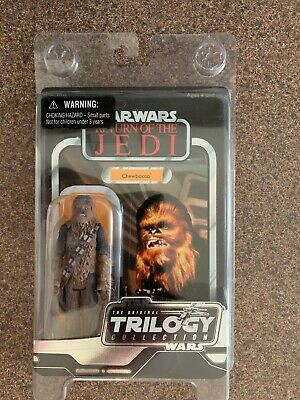 Star Wars Trilogy Collection Chewbacca Figure Disney Return Of The Jedi