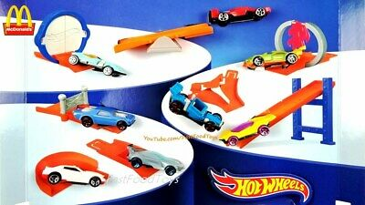 2019 McDONALD'S Hot Wheels Barbie HAPPY MEAL TOYS Choose Your character SHIPS