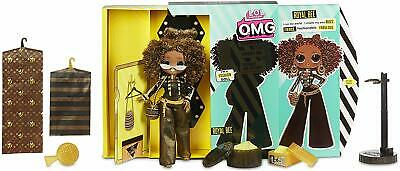 LOL OMG Fashion Doll - Royal Bee w/ 20 Surprises - swag neonlicious - Brand NEW
