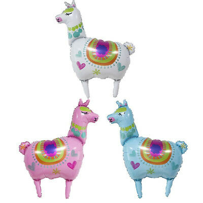 Llama Foil Balloons Alpaca Helium Party Balloon Birthday Wedding Party DecorSC
