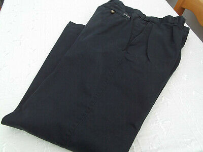 Mens Original Chino Trousers Size 34 M&S Blue Harbour
