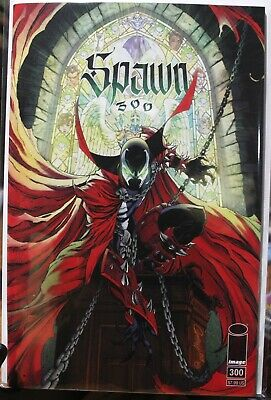 SPAWN #300 Cover G J. Scott Campbell Variant Image 2019 NM+