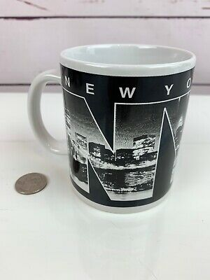 Jay Joshua New York City Coffee Tea Skyline Cup Mug Black and White NYC