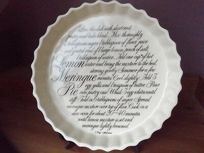 T G Green Traditional Lemon Meringue Pie Dish / Flan Dish
